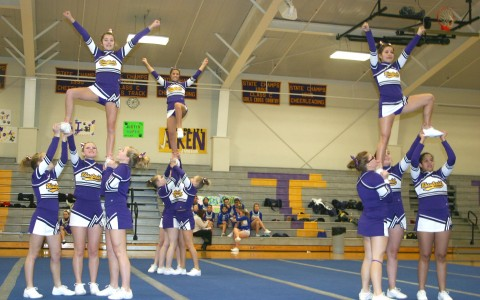 BHS cheer squads shine at Onsted