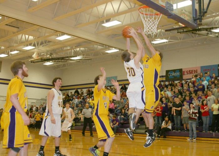 Men's varsity basketball, Feb. 11-15