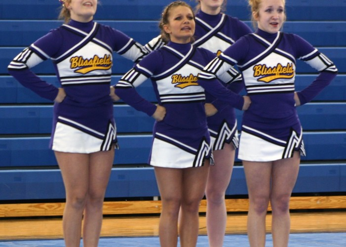 Blissfield Competitive Cheer: Adrian Invitational