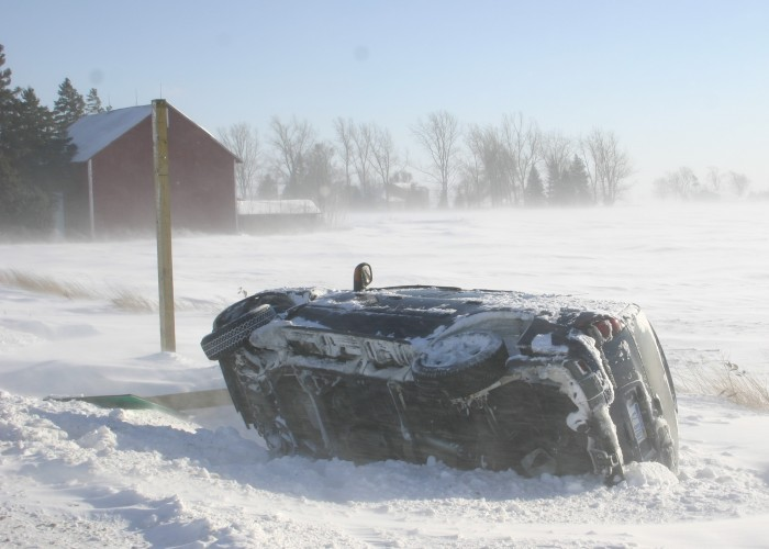 Winter storm a double-whammy of snow, subzero cold