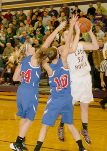 Lady Royals prevail for win over Lady Patriots