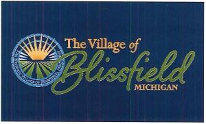 Village flag (blue)