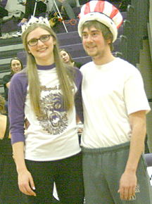 Emma Essen and Connor Friess were crowned Coming Home Queen and King at Blissfield HIgh School.